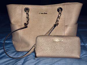 Calvin Klein Purse and Wallet for Sale in Cordova, TN