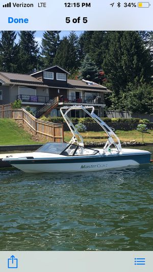 Mastercraft pro star 190 tournament ski boat for Sale in Medford, OR