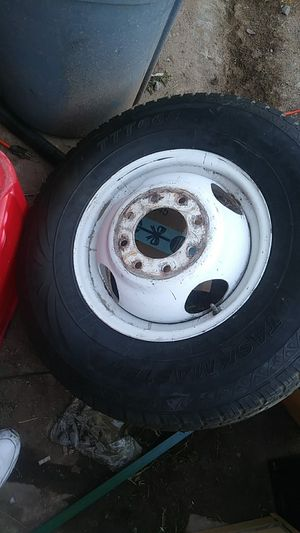 Trailer tire and rim for Sale in Glendale, AZ