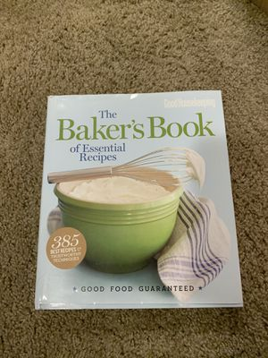 The baker's book of essential recipes for Sale in Puyallup, WA