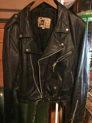 AMI Cowhide leather Bikers Jaket for Sale in West Palm Beach, FL