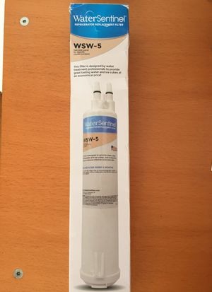 Refrigerator Replacement FILTER WaterSentinel for Sale in Chicago, IL