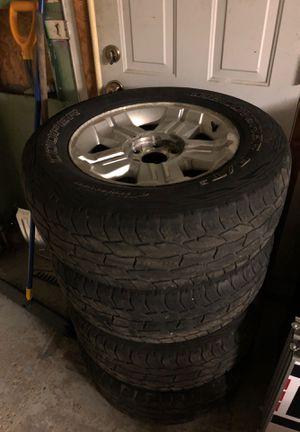 Silverado wheels with tires for Sale in Tonawanda, NY