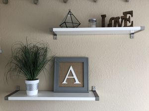 Decorative floating shelves for Sale in San Diego, CA