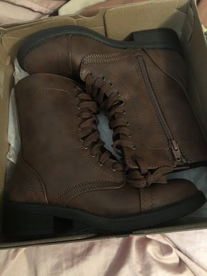 Trendy brown boots for Sale in Fresno, CA