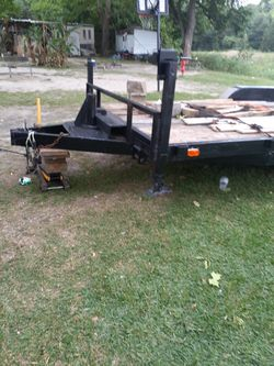 Car hauler 18ft long carry up 500ton and its hand made for Sale in Alvin,  TX