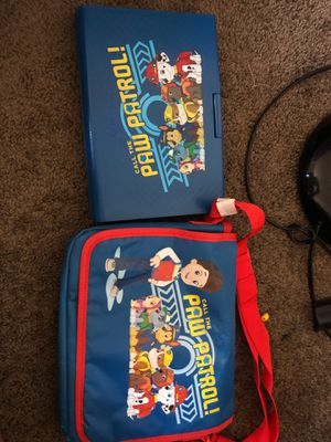 Paw patrol DVD player & case for Sale in Grove City, OH