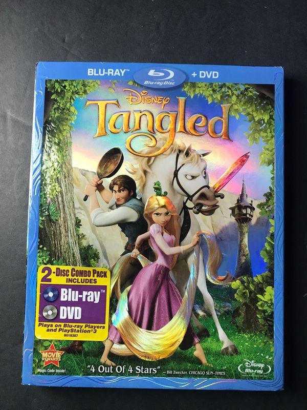 Disney's Tangled Blu-ray DVD
