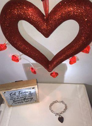 "Bracelet - heart tag ""Tiffany & Co"" link bracelet in sterling silver for Sale in Fort Lauderdale, FL"