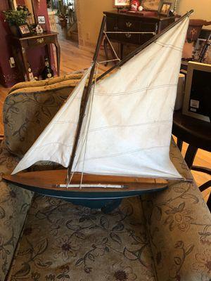 "XL Wood Nautical Sailboat 28"" long for Sale in Phoenix, AZ"