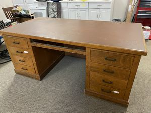 FREE: Wooden Desk for Sale in Rochester, NY