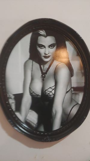 11 × 19 Lilly Munster Photo in Antique Frame for Sale in Pacific, MO