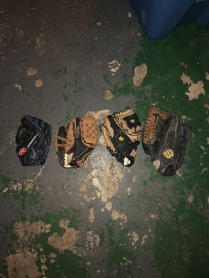 youth baseball gloves for Sale in Odenton, MD