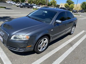 2007 AUDI A 4 2.0L turbo Auto 4 Dr Leather Seats Sunroof new pioneer stereo with cd and screen touch with Bluetooth run and drive good Registration for Sale in Anaheim, CA