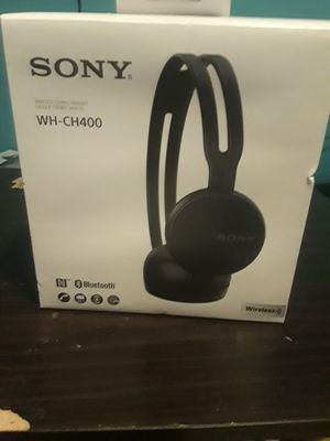 Sony WH-CH400 headphones for Sale in Fayetteville, GA
