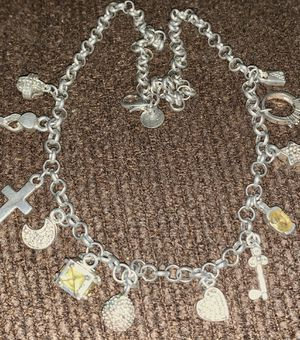 Sterling silver charm-necklace/adjustable for Sale in Virginia Beach, VA