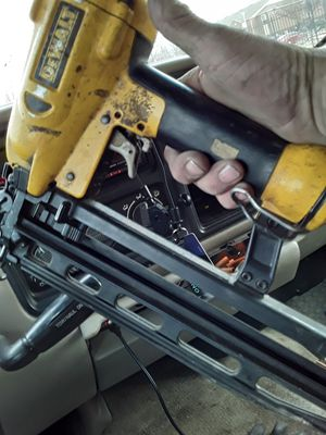 Dewalt finish nail gun for Sale in Claremore, OK