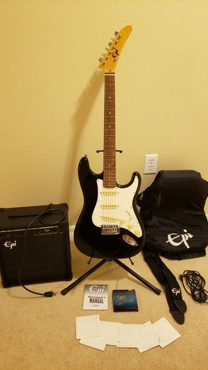 Epi electric Guitar package for Sale in Ocoee, FL