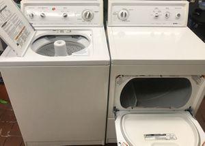 Set de lavadora y secadora de gas excelente condiciones marca Kenmore Heavy Duty súper capasida for Sale in Fontana, CA