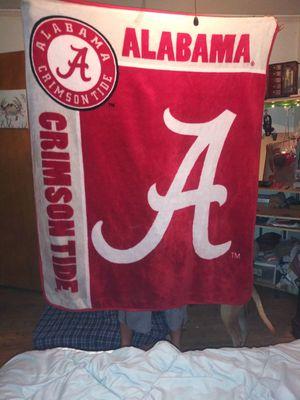 Alabama Crimson Tide Fleece Blanket for Sale in Montgomery, AL