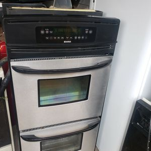 Kenmore Stainless Steel (Dual Oven ) for Sale in Lewisville, TX