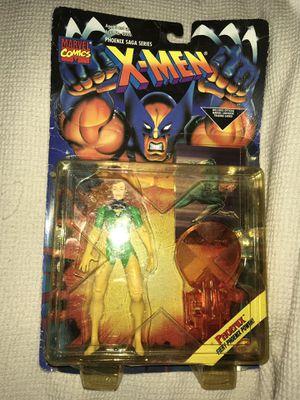 Vintage New 1994 X-Men Fiery Phoenix Saga Power Toy Bix figure + Forge Trading Card for Sale in Atlanta, GA