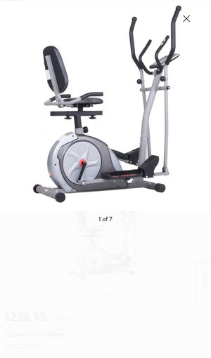 2 in 1 Elliptical & Stationary Bike for Sale in Suffield, CT