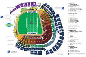 2 FIU Panthers vs Miami Hurricanes Lower Level Tickets and Parking Pass 11/23 for Sale in Boca Raton, FL