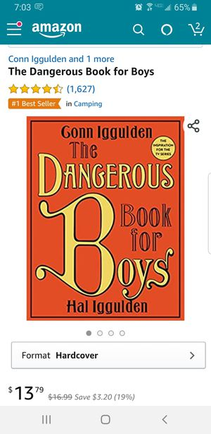 Dangerous Book for Boys for Sale in Payson, AZ