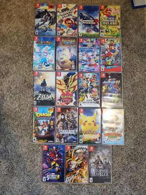 Nintendo switch games for Sale in East Windsor, CT