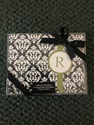 R initial notecards for Sale in Port Orchard, WA
