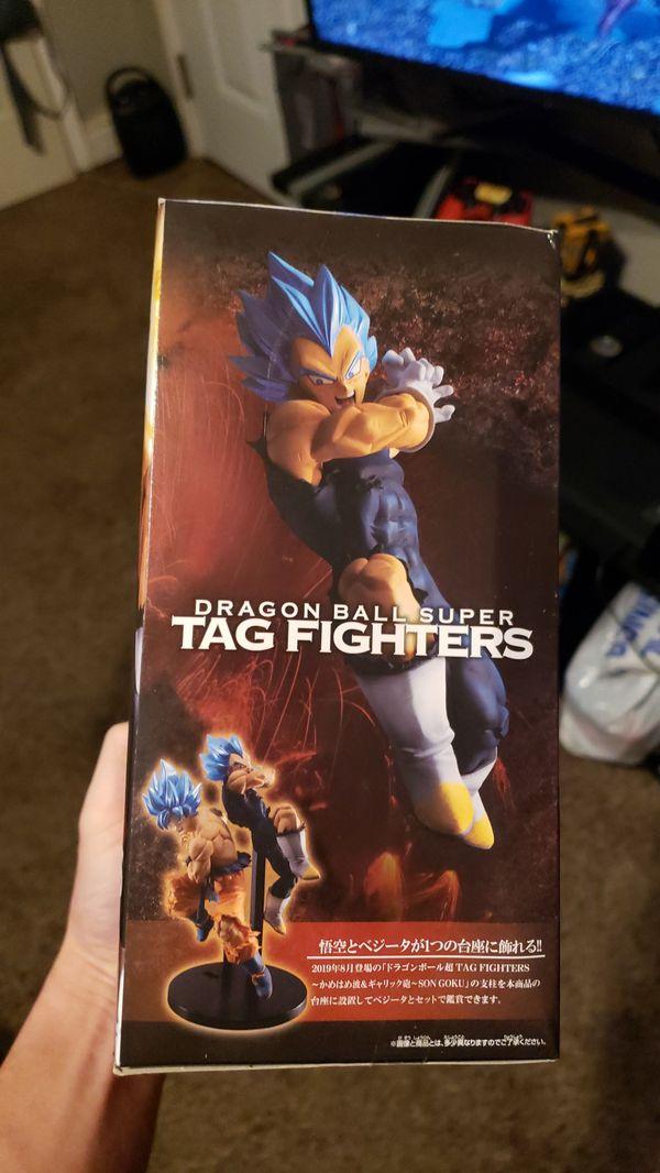 Dragon ball Z tag fighters Vegeta God figure