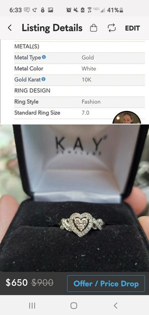 Heart promise/engagement ring for Sale in Atascadero, CA