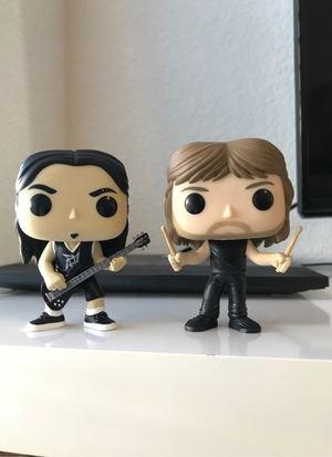 Metallica funko pop collectibles for Sale in Kyle, TX