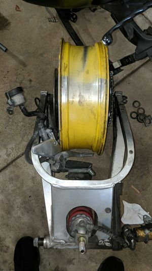 94 yamaha yzf 750 r7 motorcycle rear end for Sale in Naperville, IL