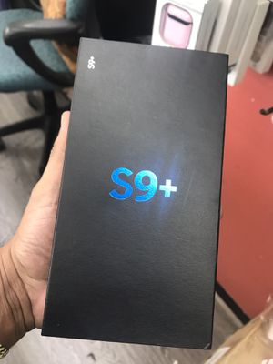 S9 plus factory unlocked no credit needed pay down payment only for Sale in Houston, TX