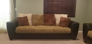 Sofa, Love seat, coffee table and end table for Sale in Ontario, CA