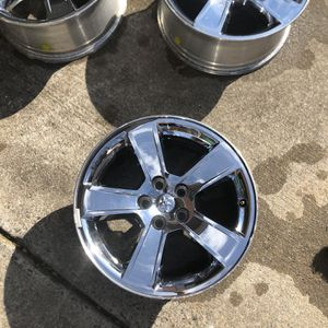 Dodge Charger Chrome Rims for Sale in Matthews, NC