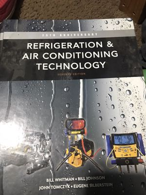 Refrigeration and air conditioning technology book for Sale in Seattle, WA
