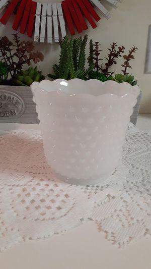 Milk glass vase for Sale in Salem, WV