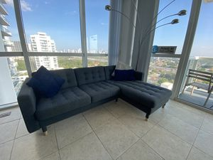 Sectional Couch - Gray for Sale in Miami, FL