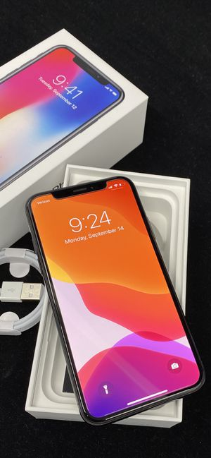  iPhone X 256gb Factory Unlocked for Sale in Scottsdale, AZ