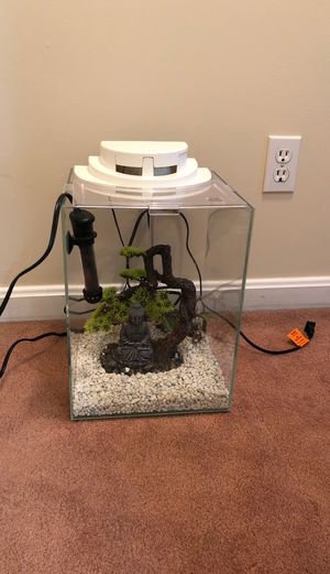 5 gallon Waterfall Fish Tank for Sale in Louisville, KY