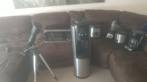 Seven items (Telescope, microwave, slow cooker, coffee maker, blender, water dispenser, rice maker for Sale in Oxon Hill, MD