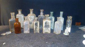 Lot of antique bottles for Sale in Tucson, AZ