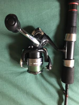7 foot ultralight rod and reel set up only used twice by an adult for Sale in Santa Ana, CA