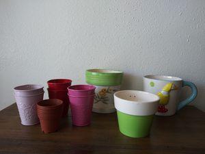 Garden Plant Flower Pots for Sale in Los Angeles, CA