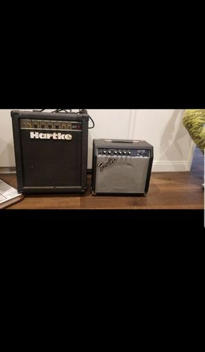 Hartke and Fender for Sale in San Marino, CA