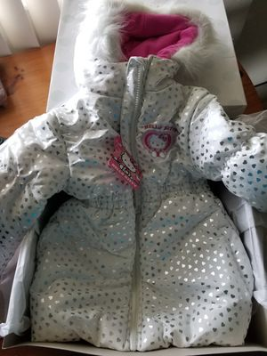 Hello kitty 4T jacket with hoodie for Sale in Costa Mesa, CA
