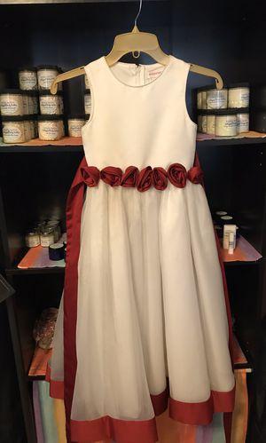Girls, size 6, floor length, flower girl dress for Sale in Greenville, SC